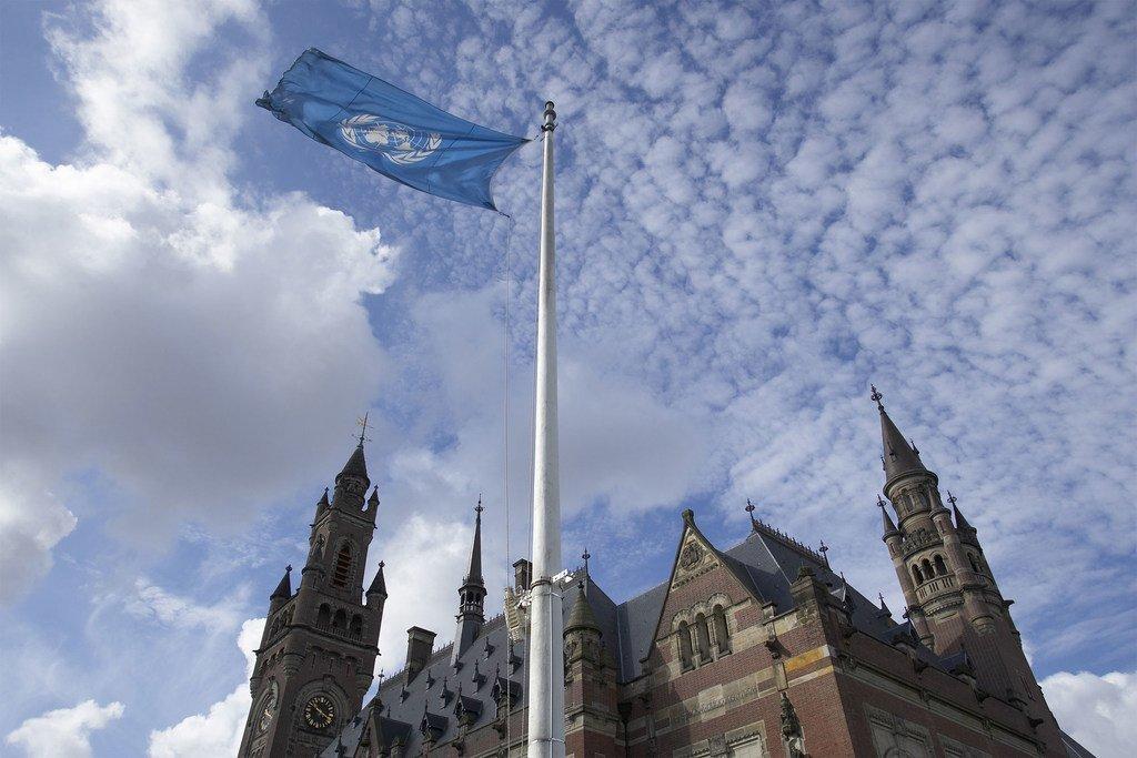 Vista de la sede de la Corte Internacional de Justicia en La Haya. Foto: CIJ/Jeroen Bouman