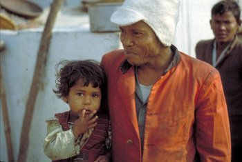 Leprosy patients (file)