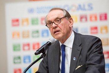 常务副秘书长埃利亚松。联合国图片/Rick Bajornas