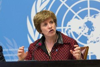 La Haut-Commissaire adjointe des Nations Unies aux droits de l'homme, Kate Gilmore (archive)