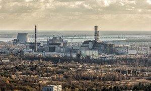切尔诺贝利核电站。