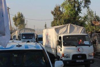 ООН готова доставить в  Восточную Гуту необходимую гуманитарную помощь, как только для этого будут созданы условия, как, например, в апреле 2016 г.