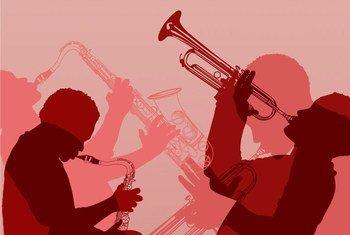 Historia ya muziki wa Jazz inaleta pamoja mchanganyiko wa watu na tamaduni kutoka Afrika, Ulaya na Karibea.