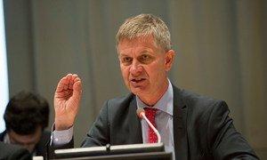 Erik Solheim.