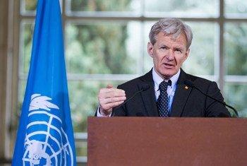 يان إيغلاند، كبير مستشاري المبعوث الخاص إلى سوريا.