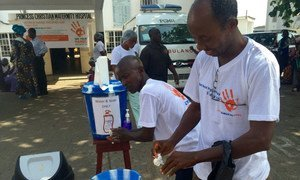 Sierra Leone celebrates World Hand Hygiene Day as an important action to block the spread of disease in health facilities.