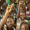 Students attend class at a public school in Taliko, a neighbourhood of Bamako, Mali.