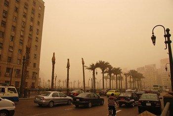 تلوث الهواء في القاهرة، مصر. المصدر: البنك الدولي / كيم إيون يول