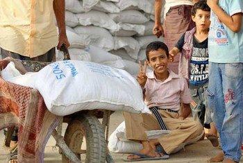 Des enfants au Yémen. Photo : PAM / Ammar Bamatraf
