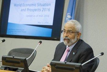 Lenni Montiel, secretario general adjunto para Asuntos Económicos. Foto: ONU/Loey Felipe