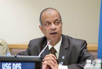 负责维和外勤支助事务的副秘书长哈雷。联合国图片/Rick Bajornas