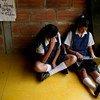 Estudiantes de una secundaria rural en Colombia utilizan las tecnologías de la información como herramienta de aprendizaje. Foto:Charlotte Kesl/Banco Mundial