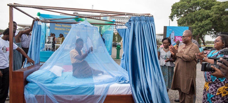La OMS reportó grandes avances en la lucha contra la malaria en África subsahariana. Foto: UNICEF/Adenike Ademuyiwa