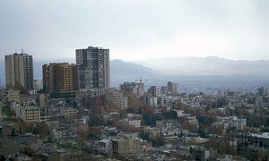 مشهد من إيران.
