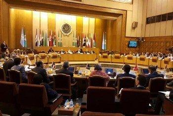 La misión del Consejo de Seguridad se reunió en El Cairo con la Liga de Estados Árabes. Foto: UNIC Cairo