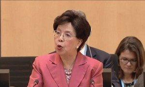 La Directrice générale de l'Organisation mondiale de la santé (OMS) Dr Margaret Chan. (archives) Photo OMS