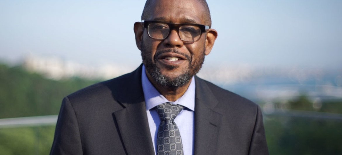 UNESCO Special Envoy for Peace and Reconciliation Forest Whitaker.