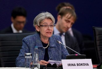 Irina Bokova, directora general de la UNESCO. Foto de archivo: ONU/Manuel Elias
