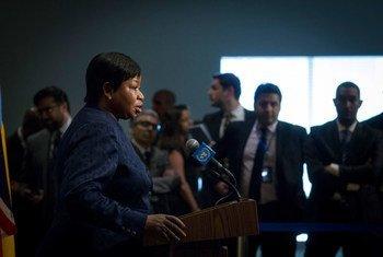 Fatou Bensouda, promotora-chefe do Tribunal Penal Internacional.