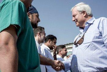 Фото Управления  ООН  по координации  гуманитарных вопросов