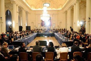 Séance de la Commission interaméricaine des droits de l'homme à Washington, aux Etats-Unis. Photo OEA/Juan Manuel Herrera (archives)