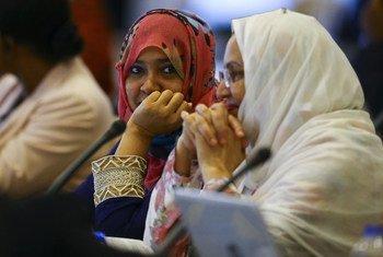 Participantes de de la reunión para el Examen de Mitad de Período del Programa de Acción de Estambul. Foto: UNOHRLLS