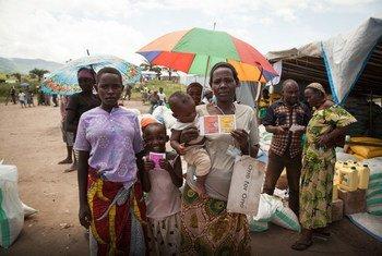 Des réfugiés burundais dans un camp à Lucenda, en République démocratique du Congo (archives). Photo PAM/Leonora Baumann