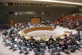 安理会现场。联合国图片/Loey Felipe