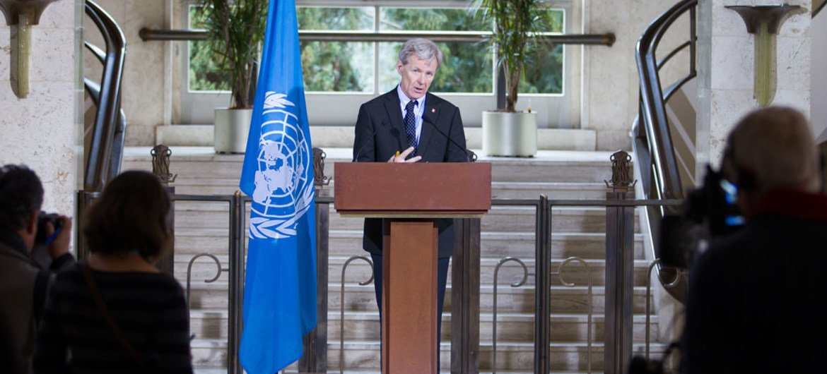 Special Advisor to the United Nations Special Envoy for Syria Jan Egeland.