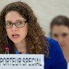 La relatora especial sobre los derechos culturales, Karima Bennoune . Foto de archivo: ONU/Jean-Marc Ferré.
