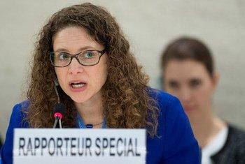 文化权利问题特别报告员贝农。联合国图片/Jean-Marc Ferré