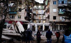 El conflicto en el este de Ucrania ha tenido una fuerte repercusión sobre los civiles.