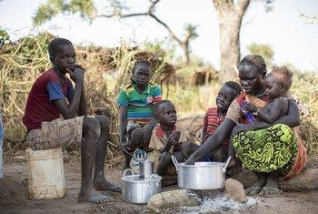 Des Soudanais du Sud Kordofan ont trouvé refugé dans le camp d'Ajuong Thok, au Soudan du Sud. Photo HCR/Rocco Nuri