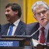 General Assembly President Mogens Lykketoft.