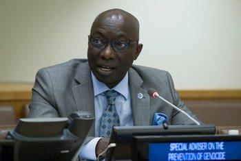Специальный советник главы ООН по предупреждению геноцида Адама Дьенг