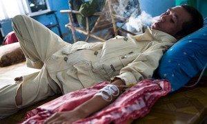 Drug dependence treatment in Myanmar.