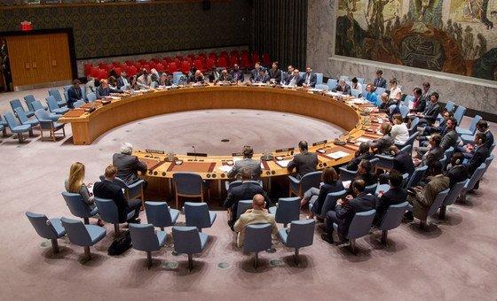 安理会会议厅 联合国图片/JC McIlwaine