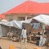 Campamento de desplazados en Maiduguri, en el noreste de Nigeria. Foto: OCHA/Fragkiska Megaloudi