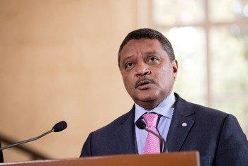 يعقوب الحلو، نائب الممثل الخاص للأمين العام في ليبيا، ومنسقا مقيما للأمم المتحدة وللشؤون الإنسانية في البلاد.