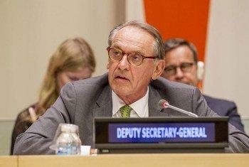 Jan Eliasson, vicesecretario general de la ONU. Foto de archivo: ONU/JC McIlwaine
