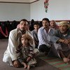 People displaced from Sa'ada are now living in a school in Sana'a, Yemen.
