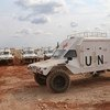 A Senegalese Quick Reaction Force (QRF) in Bangui, Central African Republic, to bolster forces of the UN Multidimensional Integrated Stabilization Mission in the Central African Republic (MINUSCA).