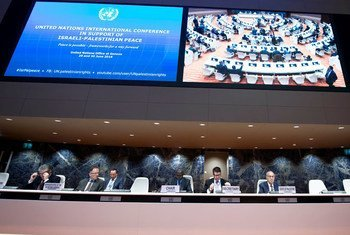 Opening of the United Nations International Conference in Support of Israeli-Palestine Peace in Geneva. 29 June 2016.