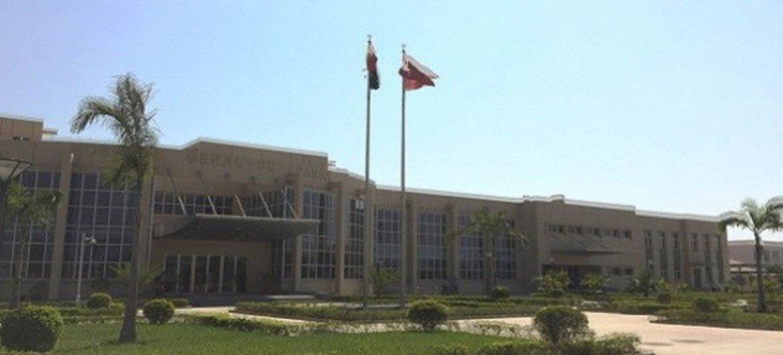 Hospital Geral de Luanda, a capital de Angola