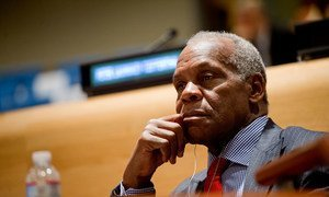 Danny Glover attends the Special Meeting of the General Assembly.
