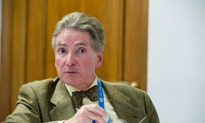 Alfred de Zayas, the UN Independent Expert on the promotion of a democratic and equitable international order.
