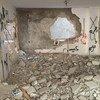 من الأرشيف: منزل عائلة فلسطينية في الضفة الغربية هدمته إسرائيل في الرابع من تموز/يوليو 2016.