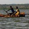 Wavuvi kutoka Kenya wakiwa katika harakati za uvuvi kwenye ziwa Victoria ambako Sangara ndiko makazi yake zaidi