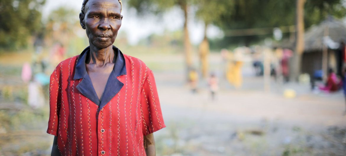 Of Nuer ethnicity, Adhieu Chol moved to Lakes state's Rumbek long ago to marry a Dinka man from the area. Since September 2015, she has provided sanctuary to many internally displaced people from Unity state looking for safety in Rumbek, South Sudan.