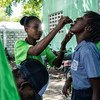 The Pan American Health Organization-World Health Organization (PAHO/WHO), UNICEF and Haiti's Ministry of Health launched in Archaie the first phase of a cholera vaccination campaign targeting 400,000 persons in 2016.